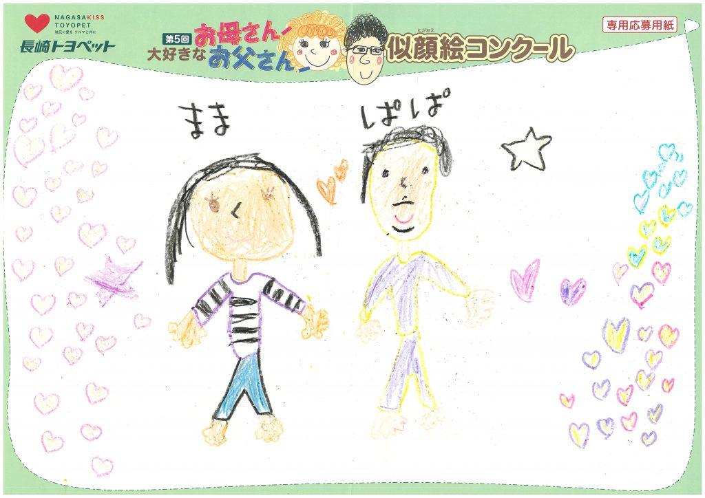 M.Kちゃん(6才)の作品