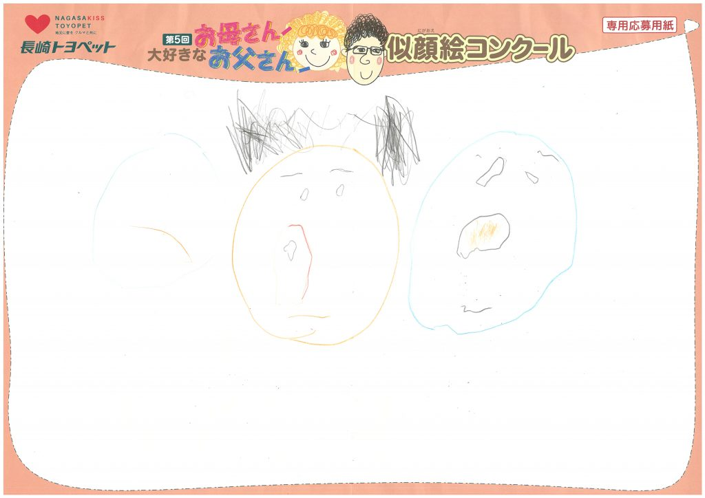 K.Yくん(3才)の作品