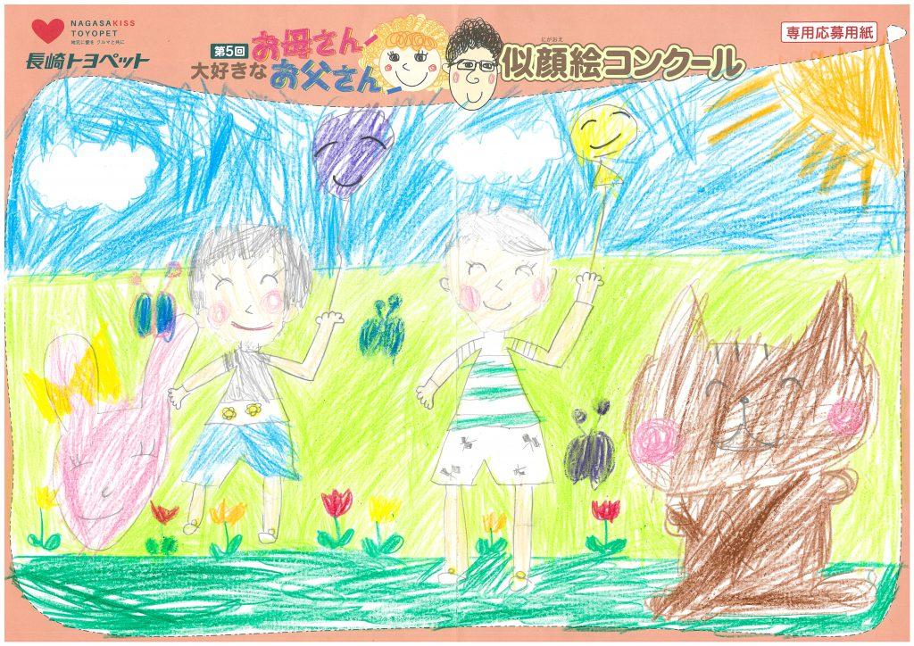 S.Kちゃん(7才)の作品