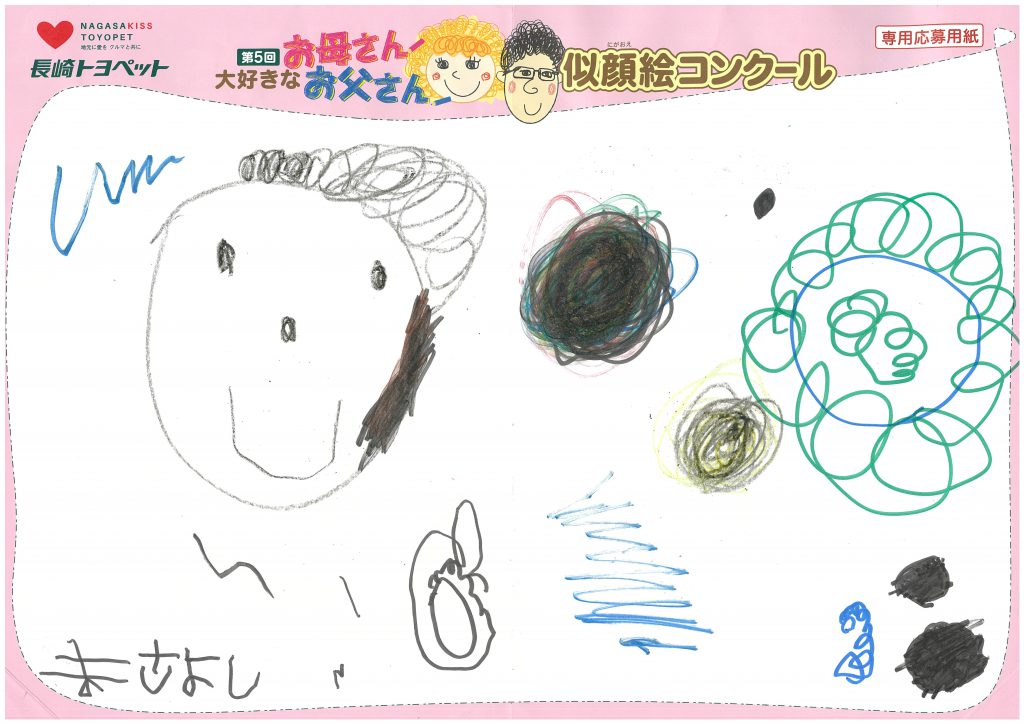 M.Wくん(5才)の作品