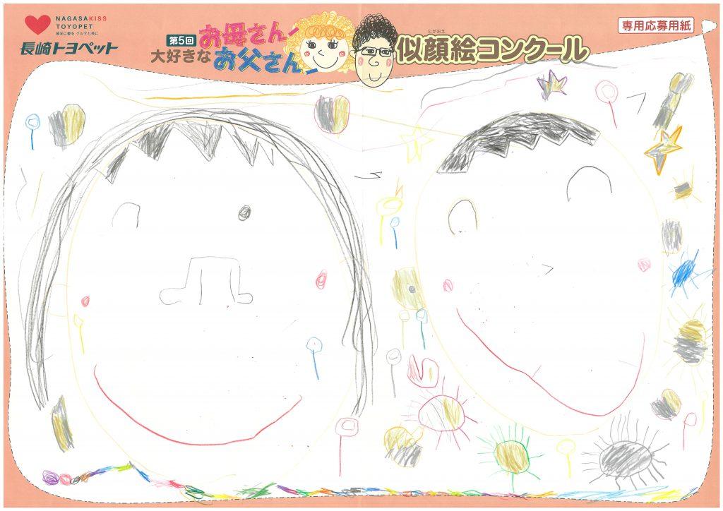 A.Nくん(4才)の作品