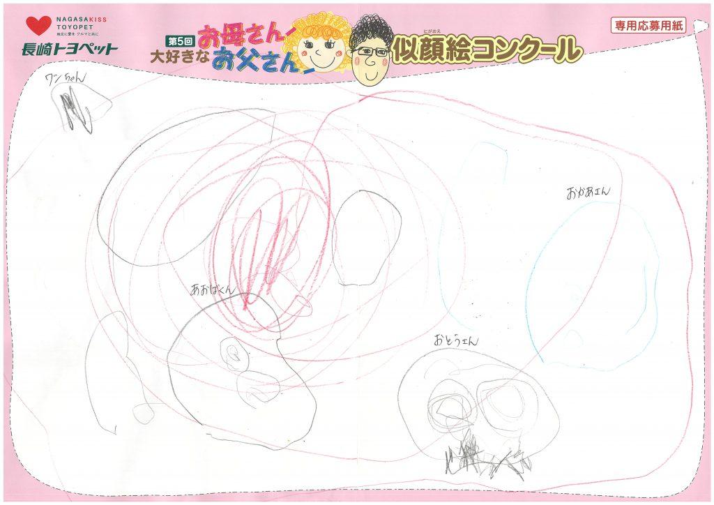 M.Aくん(3才)の作品