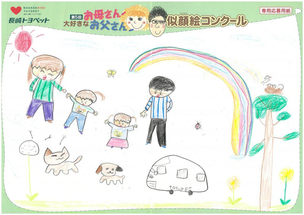 R.Hちゃん(8才)の作品