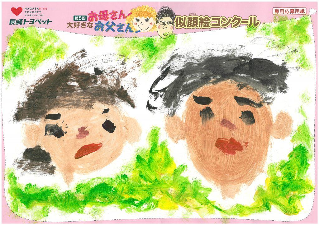 I.Sくん(3才)の作品