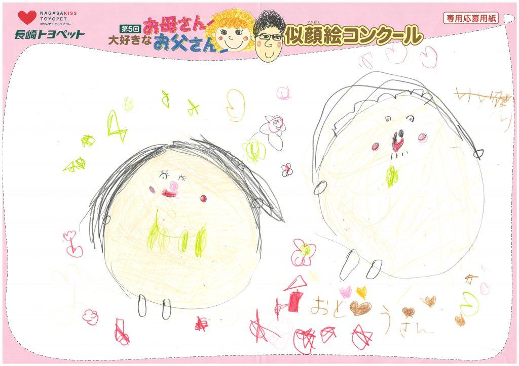 I.Yちゃん(4才)の作品