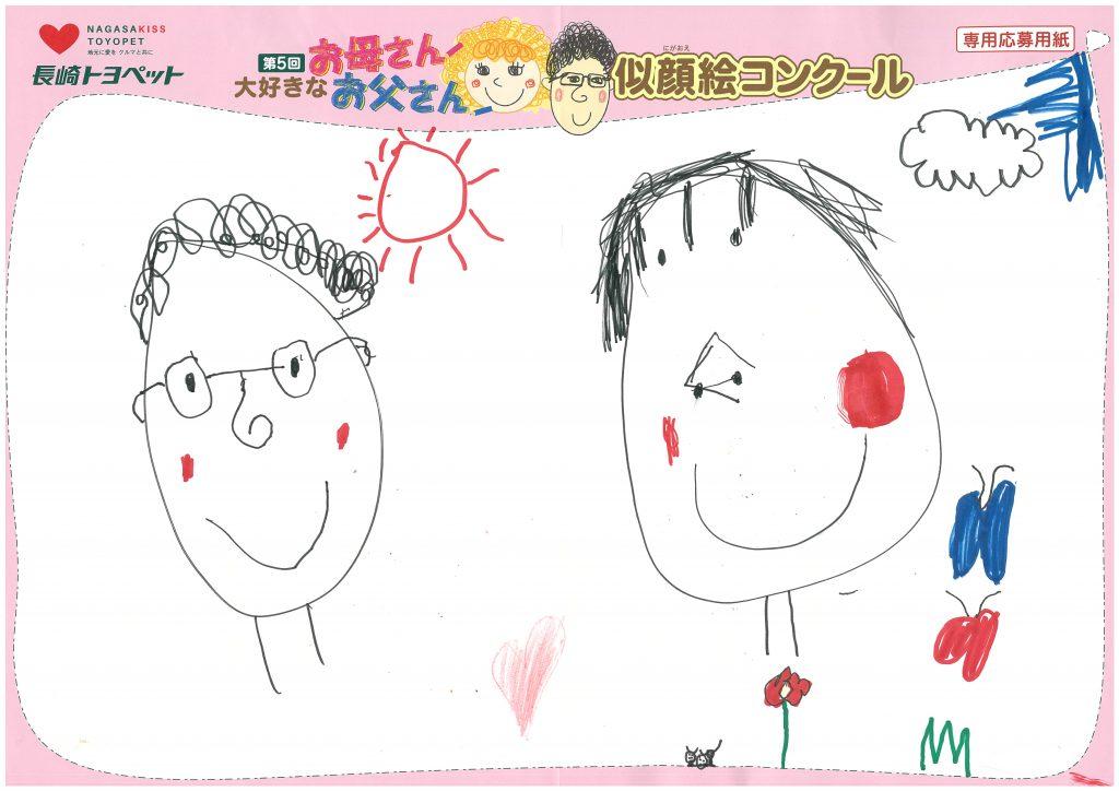 T.Uくん(5才)の作品