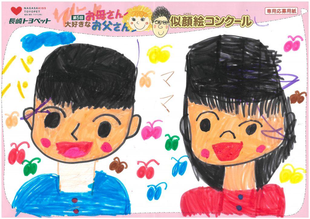Y.Oちゃん(8才)の作品