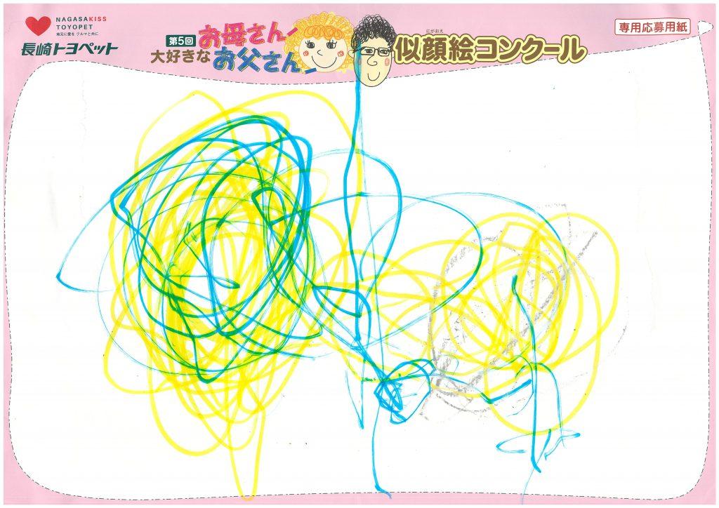 Y.Oくん(2才)の作品