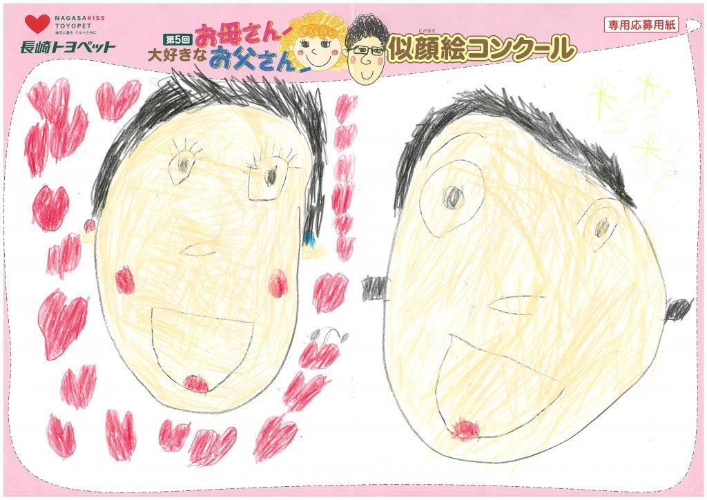 T.Oくん(5才)の作品