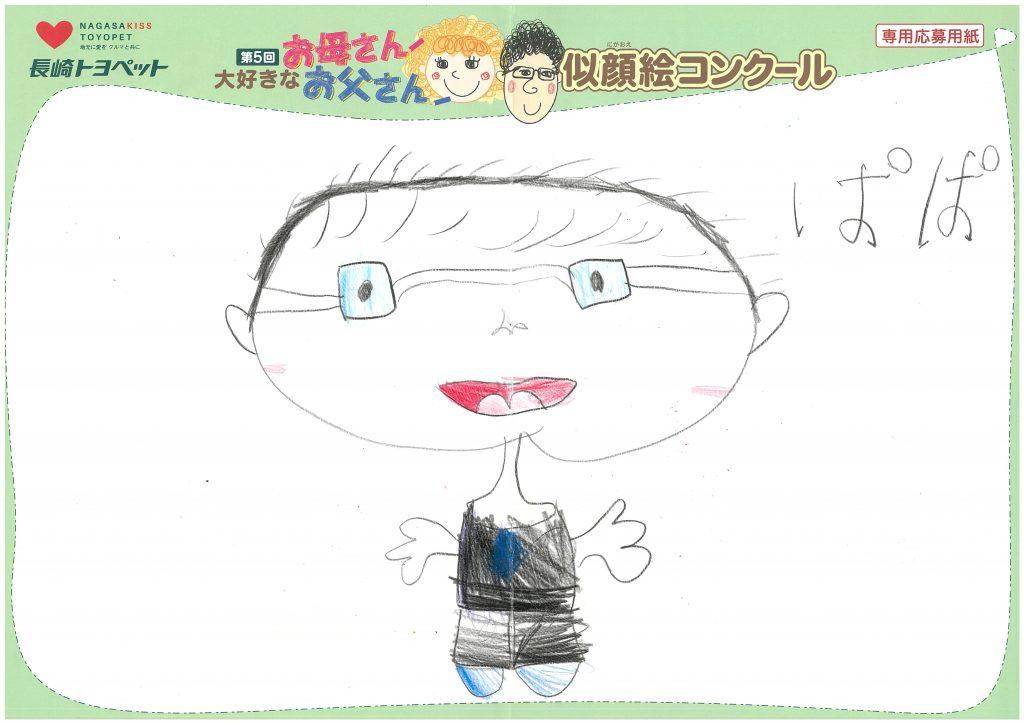 H.Hちゃん(5才)の作品