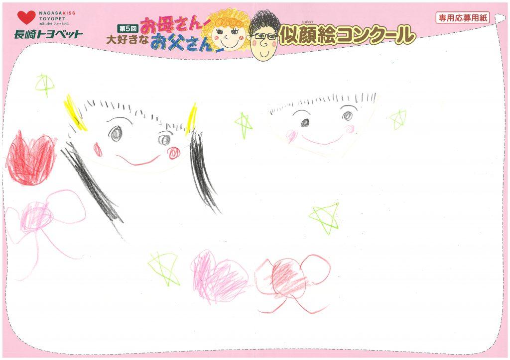 T.Wちゃん(6才)の作品