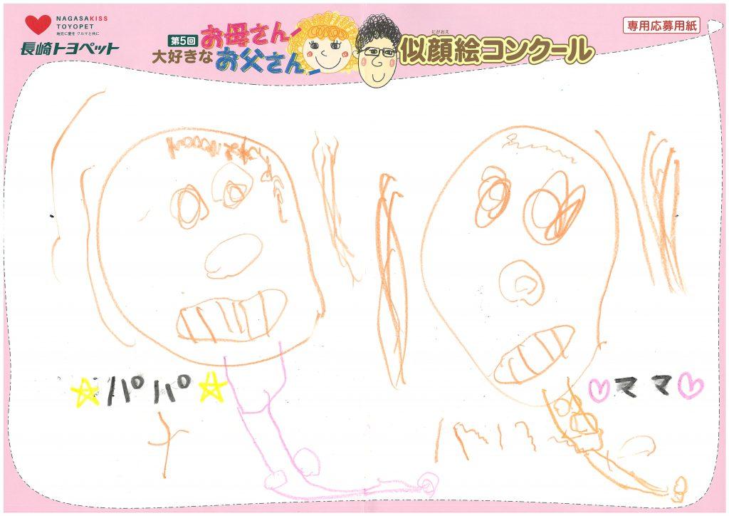 Y.Kくん(4才)の作品