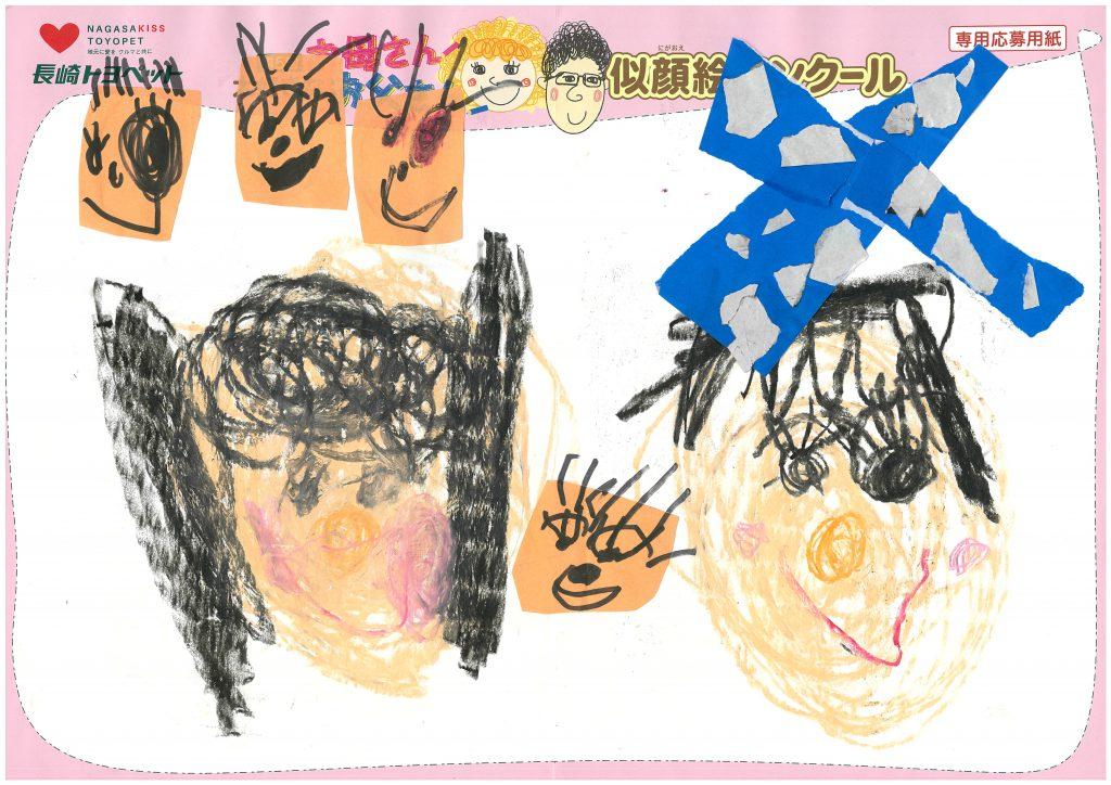 M.Aちゃん(3才)の作品