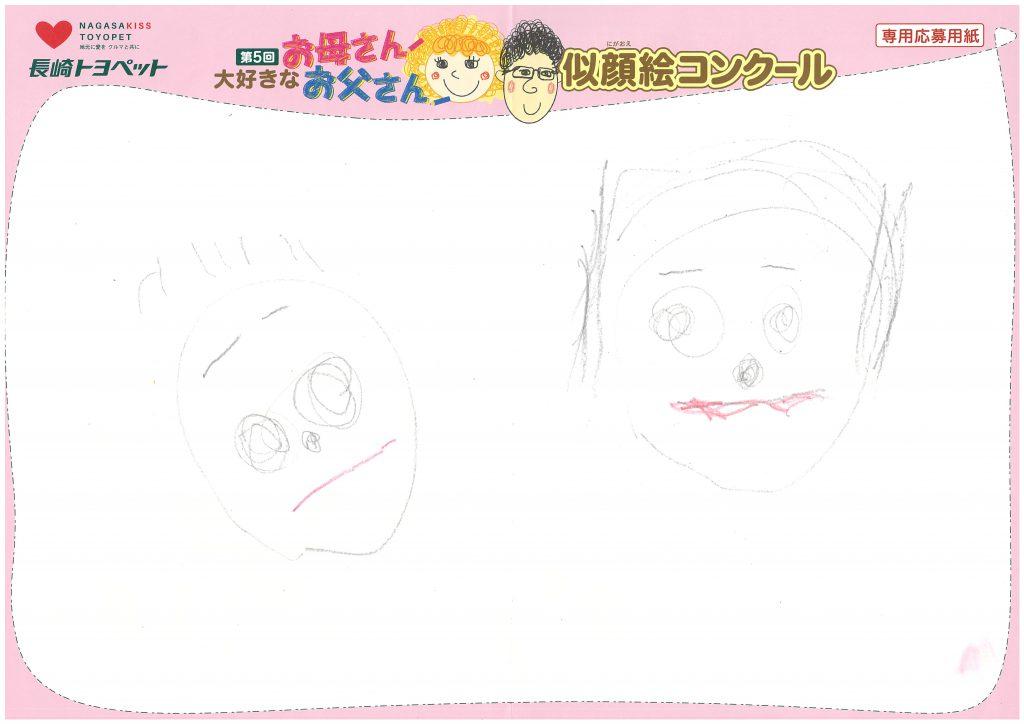 A.Nちゃん(3才)の作品
