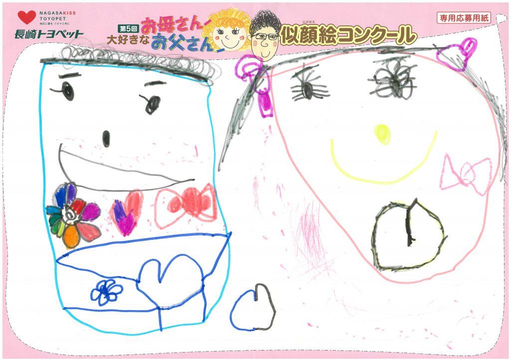 R.Yちゃん(4才)の作品