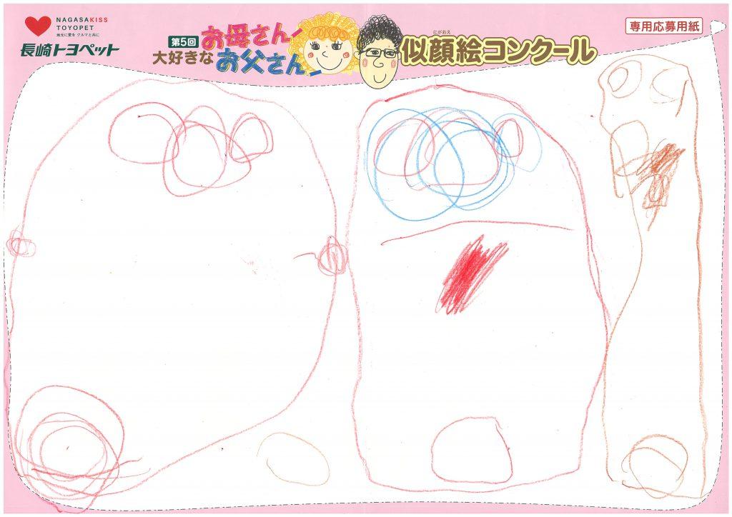 A.Dちゃん(3才)の作品