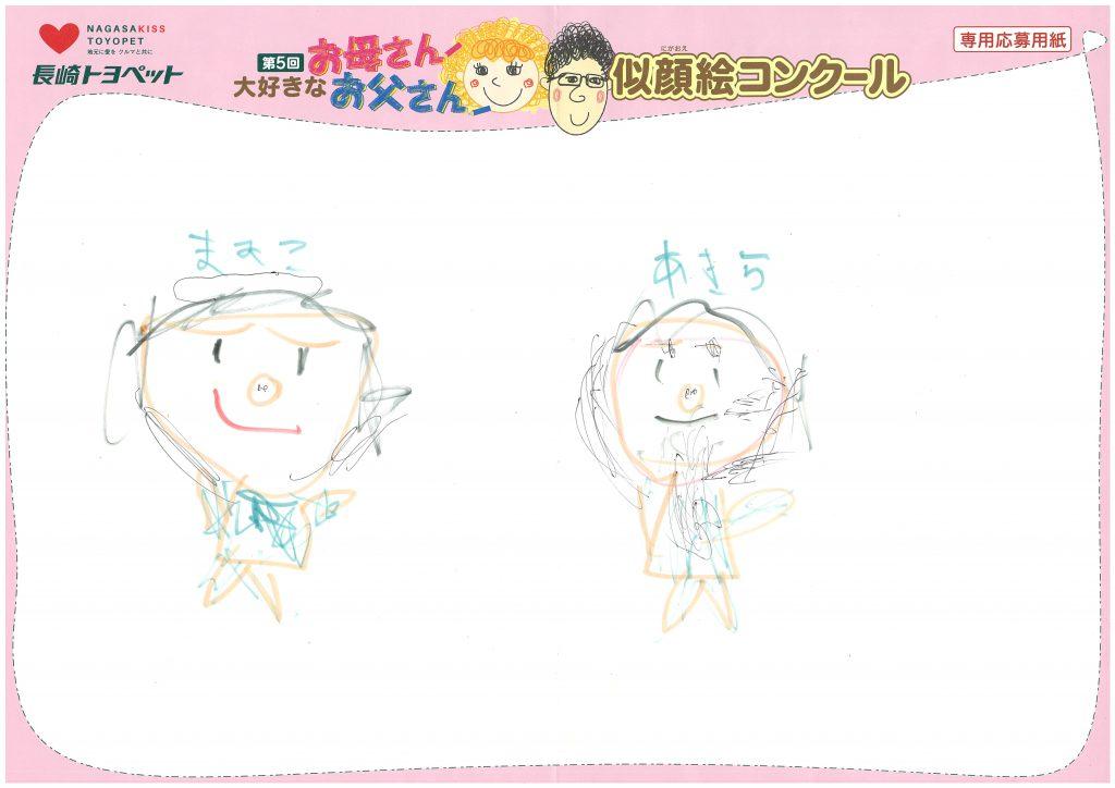 T.Mくん(6才)の作品