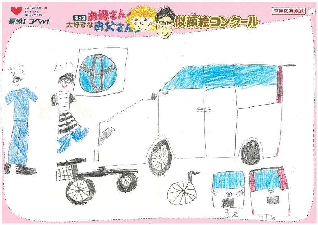 A.Oくん(6才)の作品