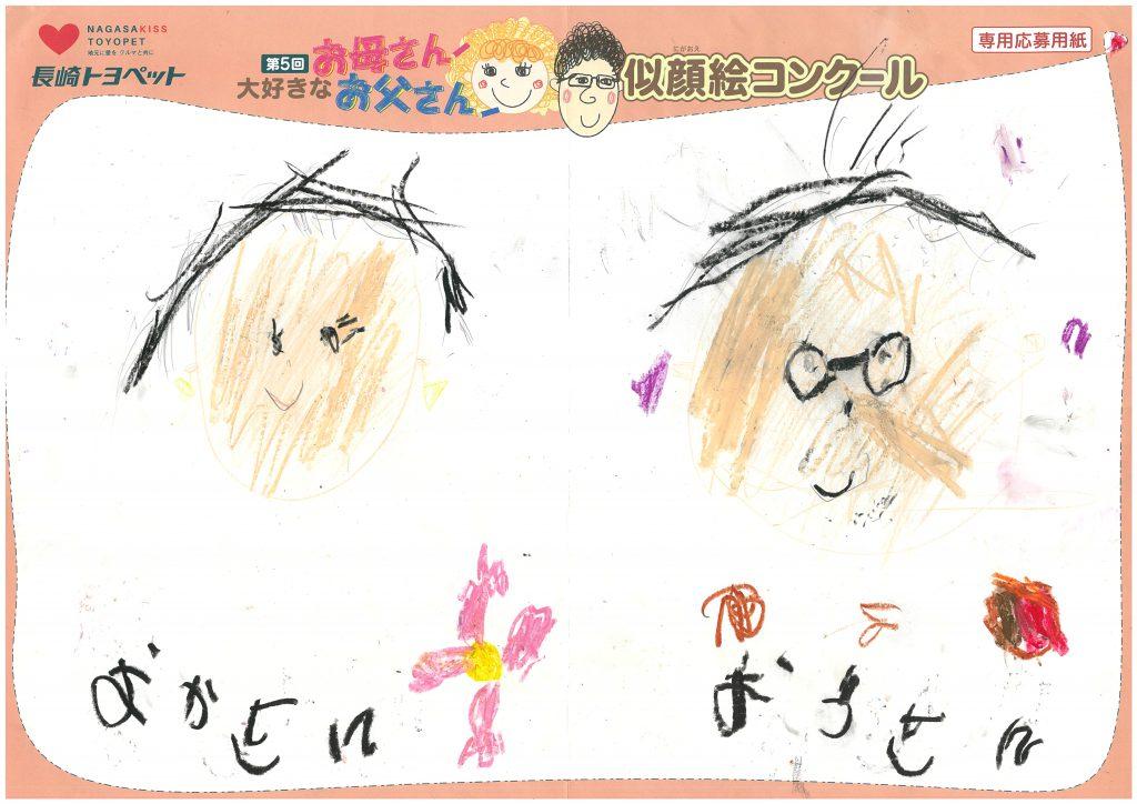 T.Wちゃん(5才)の作品