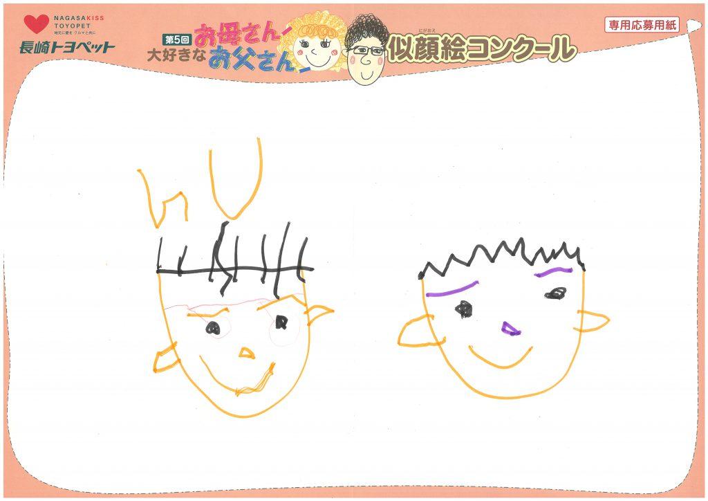 M.Mくん(4才)の作品