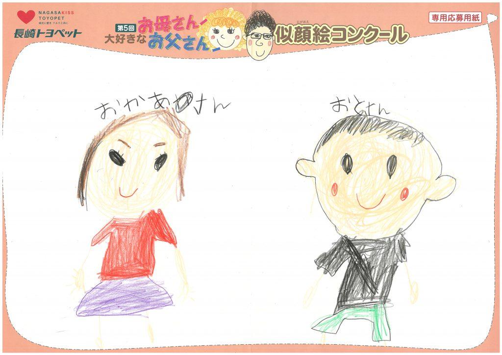 R.Kちゃん(5才)の作品