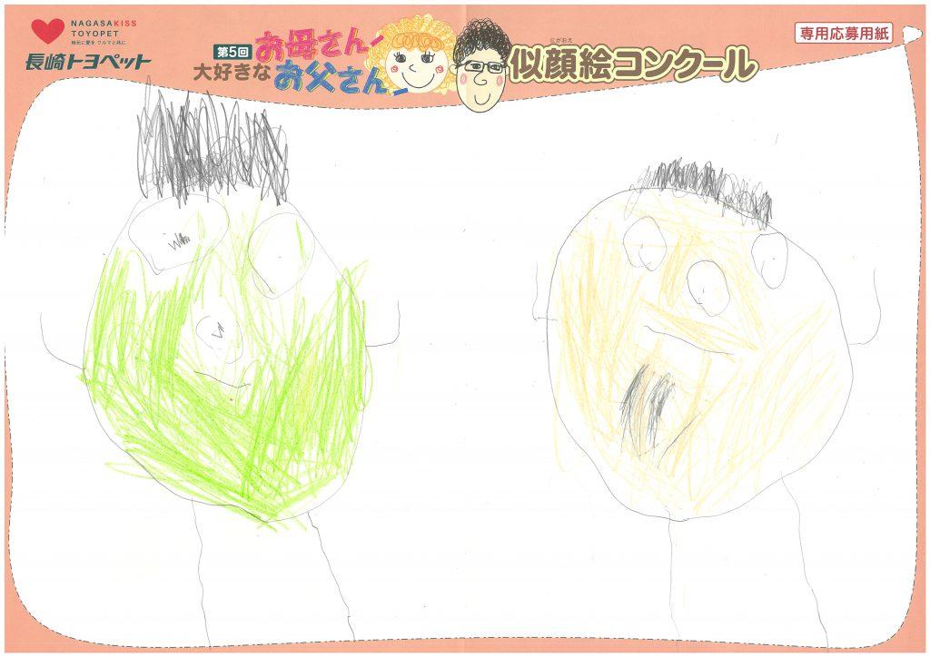 S.Tくん(3才)の作品