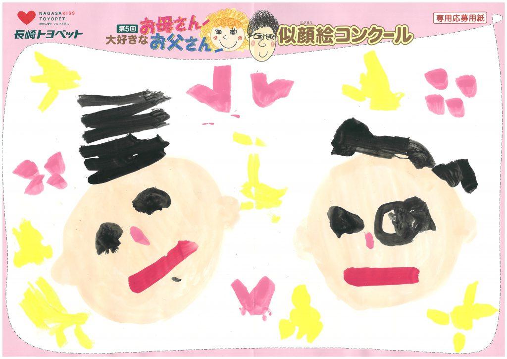 R.Mちゃん(3才)の作品