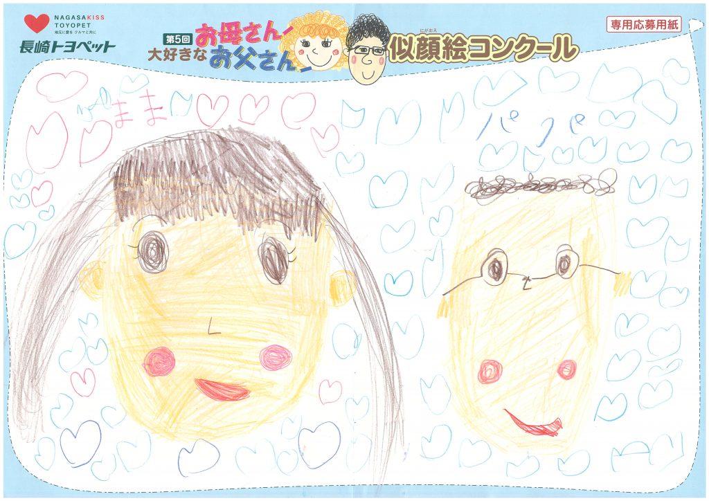 S.Iちゃん(5才)の作品