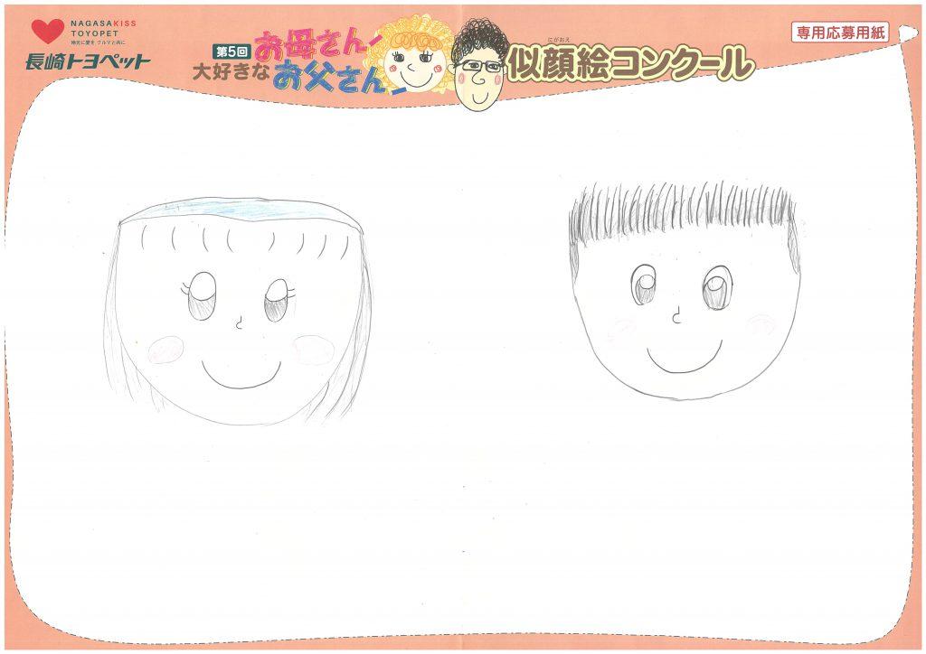N.Sちゃん(9才)の作品