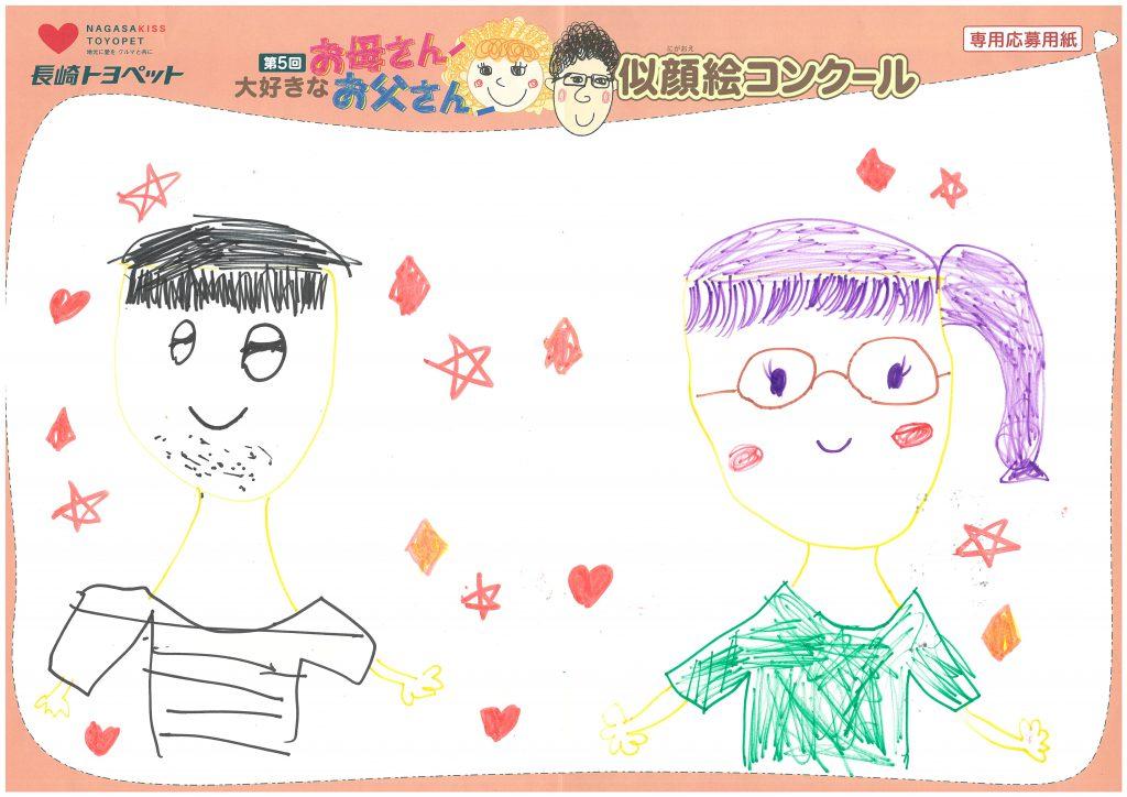 R.Kちゃん(7才)の作品