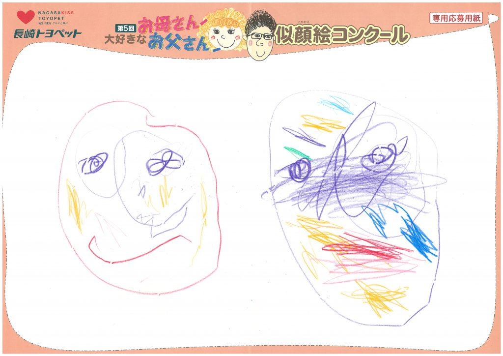 M.Bちゃん(2才)の作品
