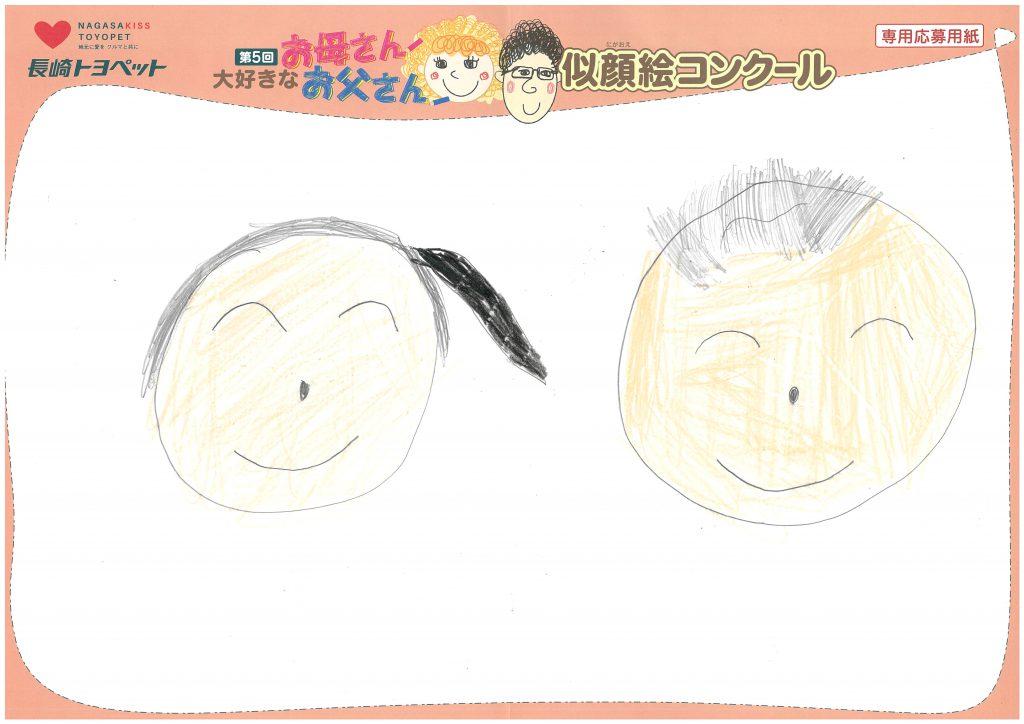 M.Hちゃん(6才)の作品