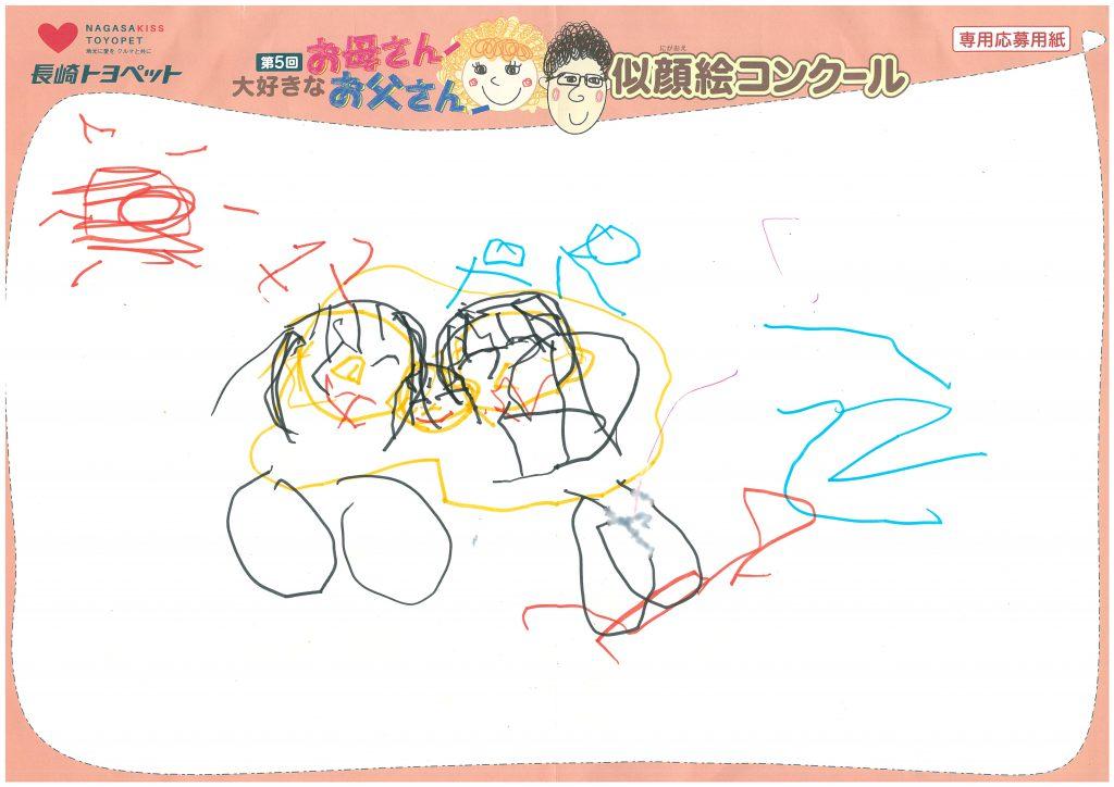 R.Yくん(1才)の作品