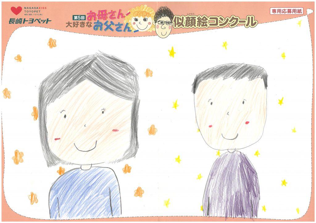 M.Oちゃん(10才)の作品