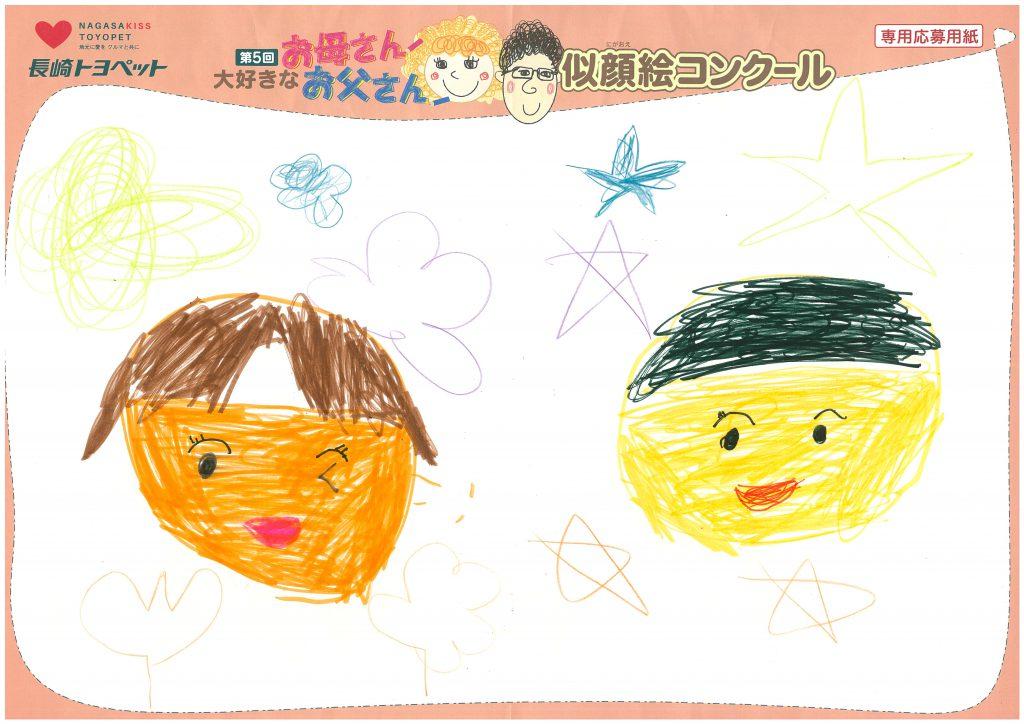 K.Oちゃん(6才)の作品