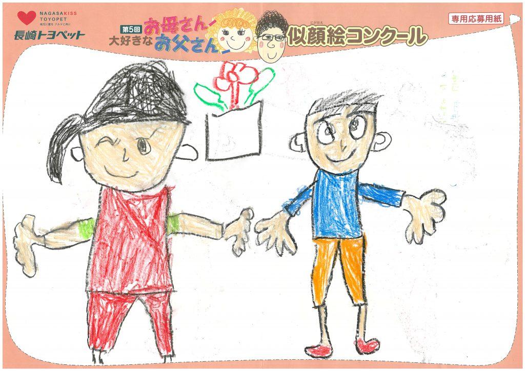 T.Kくん(6才)の作品