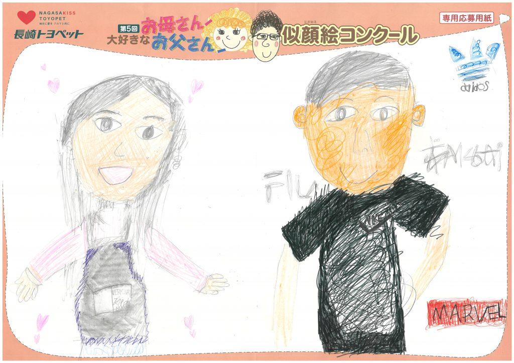 N.Eちゃん(9才)の作品