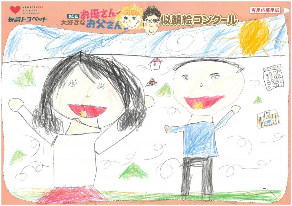S.Sちゃん(6才)の作品