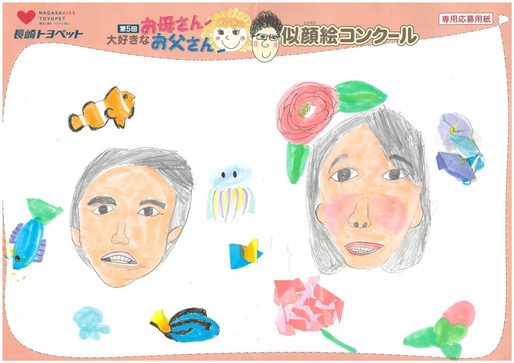 Y.Yちゃん(8才)の作品