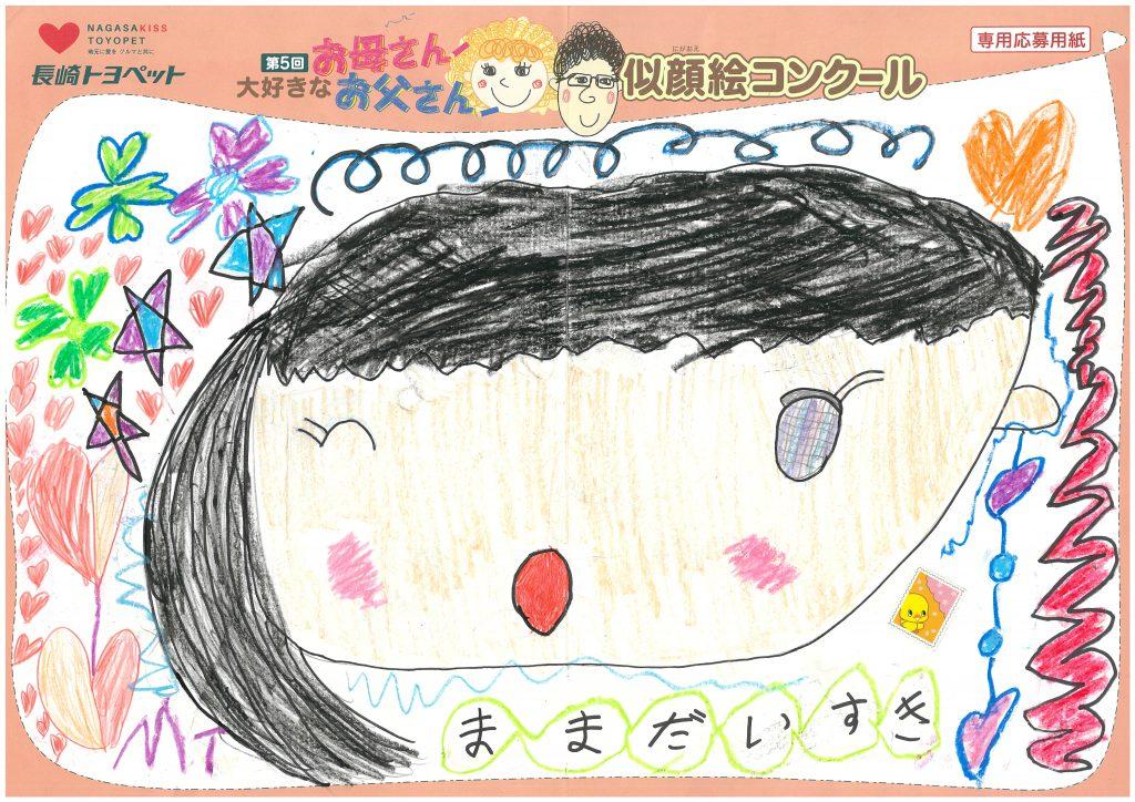 E.Sちゃん(6才)の作品