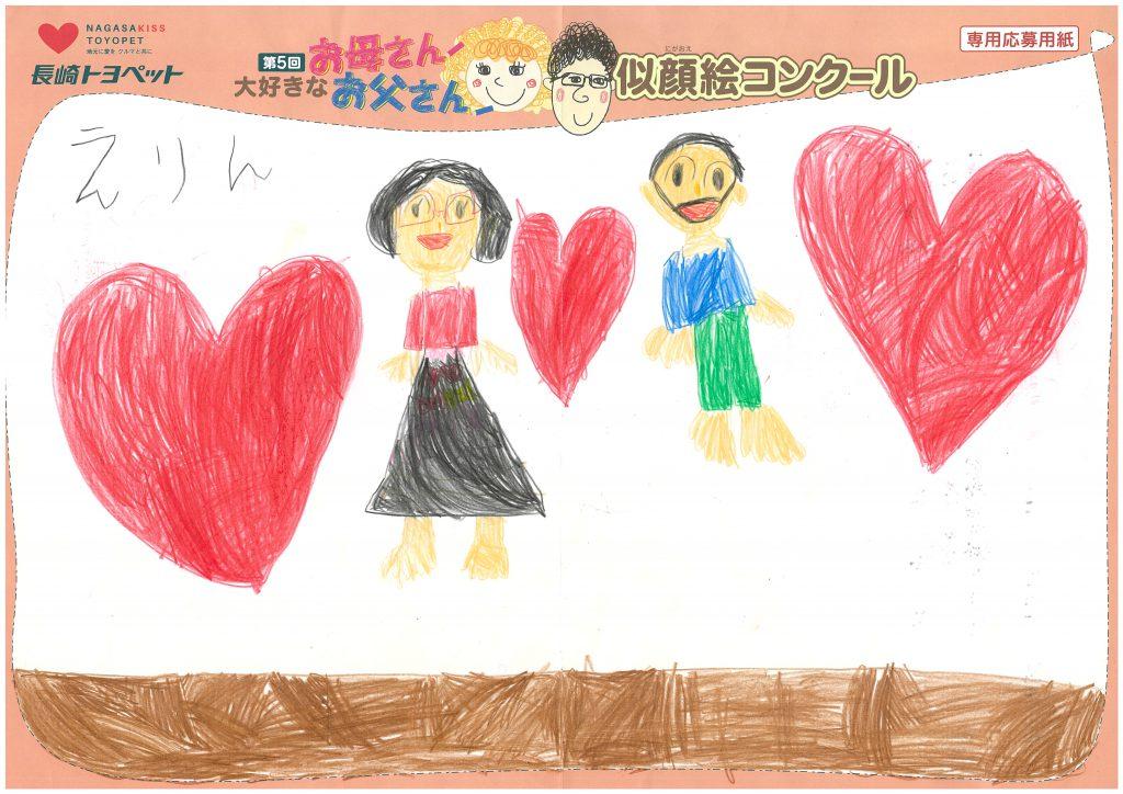 E.Kちゃん(6才)の作品