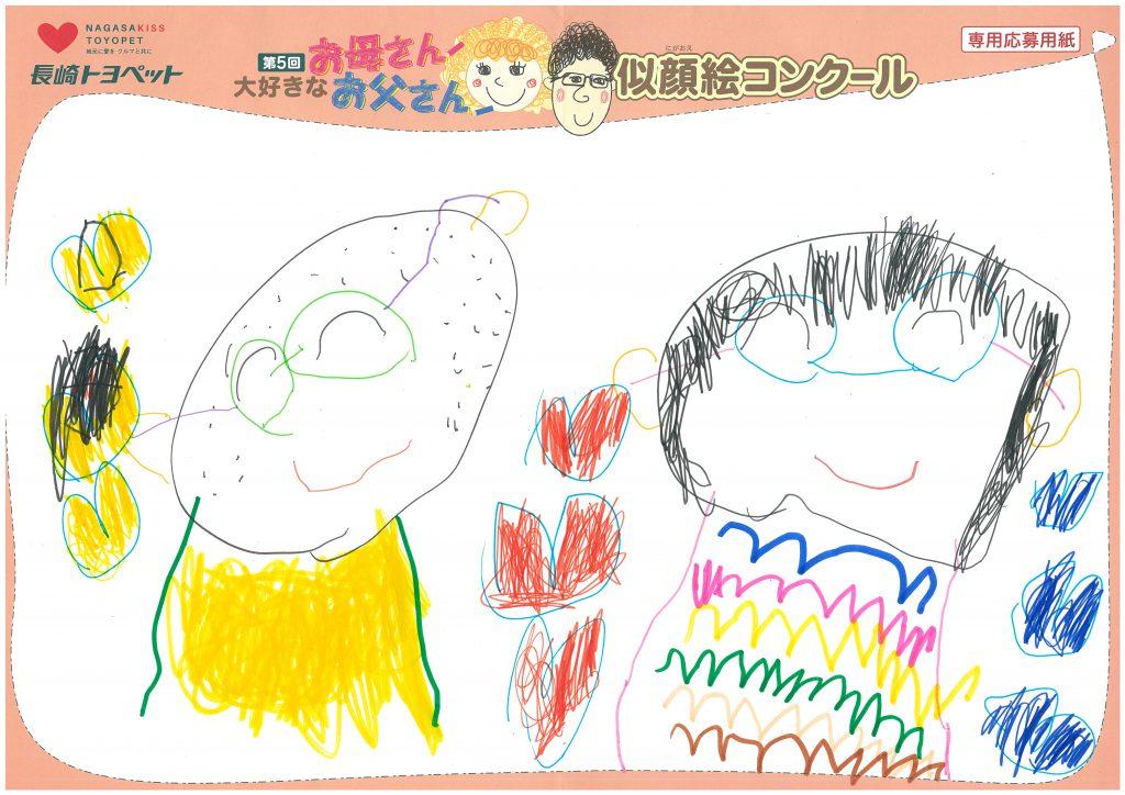 T.Mちゃん(4才)の作品