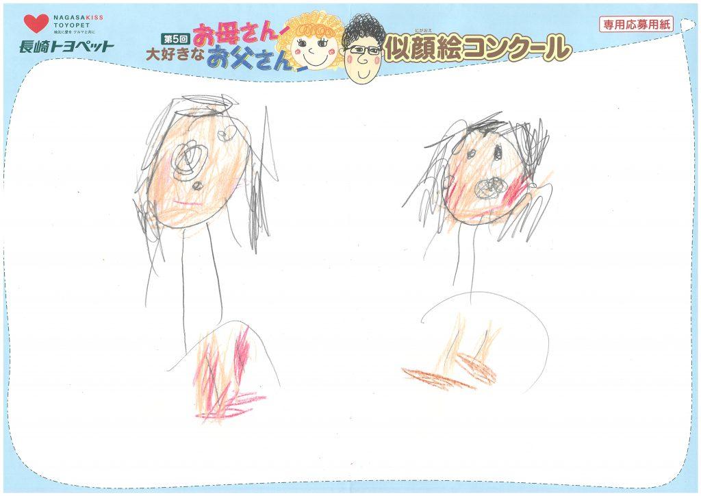 I.Nちゃん(3才)の作品