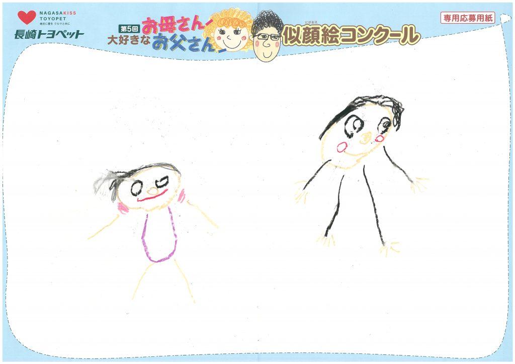 S.Tくん(5才)の作品