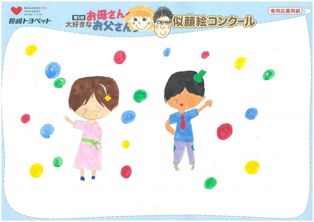 K.Tちゃん(7才)の作品