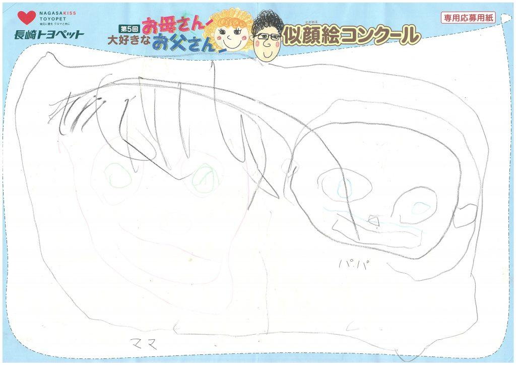 S.Kくん(3才)の作品