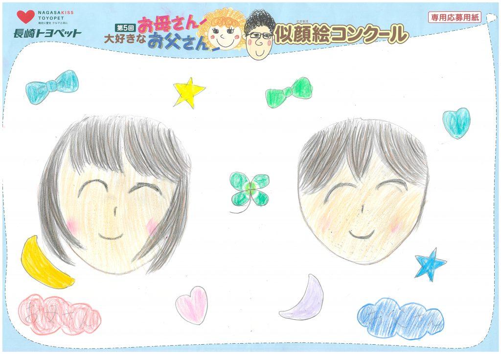 M.Iちゃん(8才)の作品