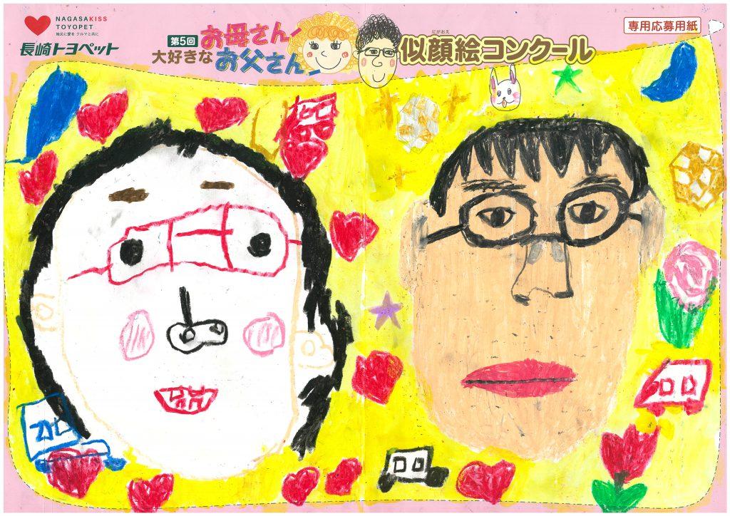 H.Mちゃん(7才)の作品