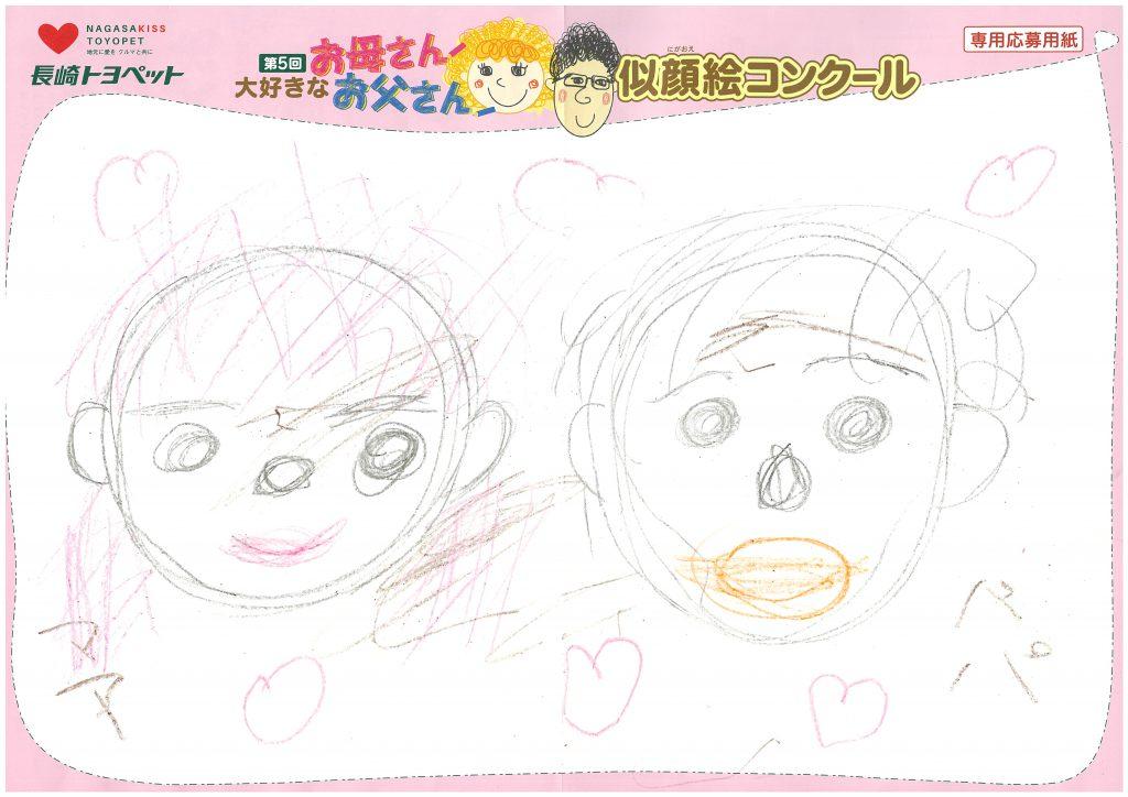 Y.Wちゃん(3才)の作品