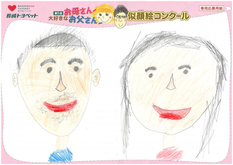 M.Eくん(7才)の作品
